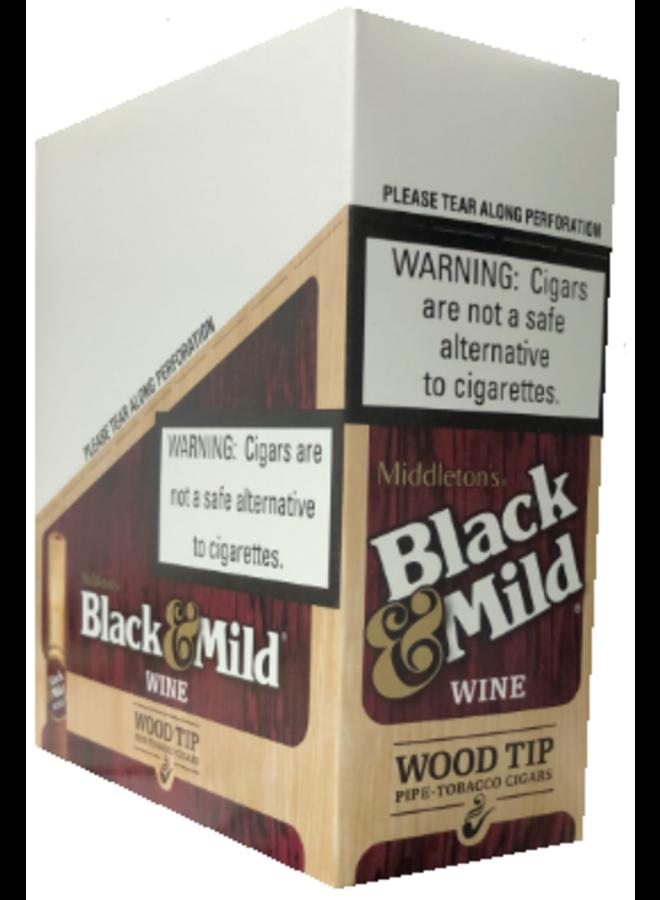 Wine Wood Tip 5-pack