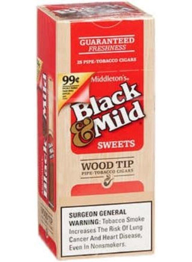 Black & Mild - Sweets Wood Tip