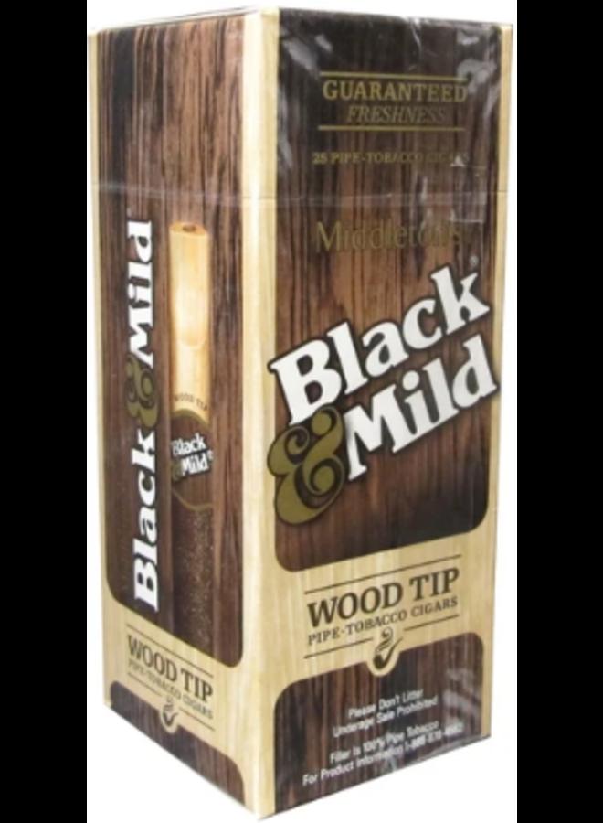 Black & Mild - Natural Wrap | Original Wood Tip