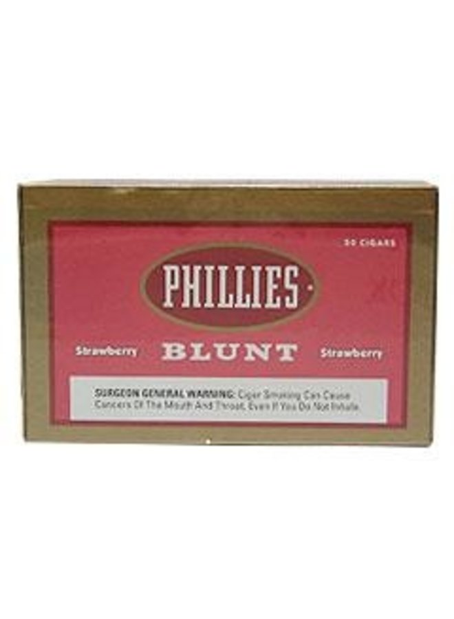 Phillies Blunt - Strawberry 5-pack