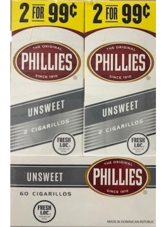 Phillies Blunt - UnSweet 2-pack