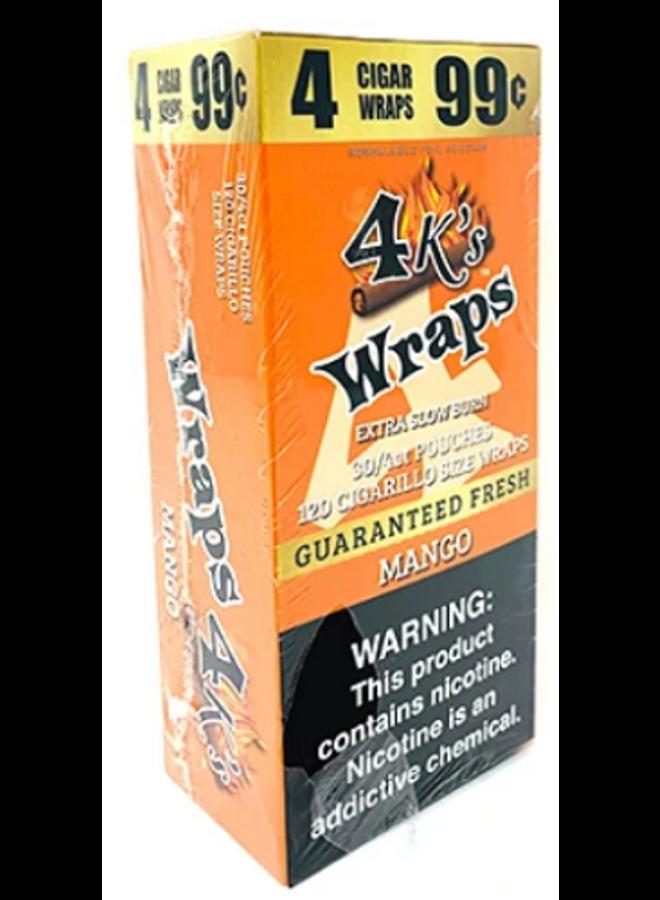 4 K's - Mango Wraps