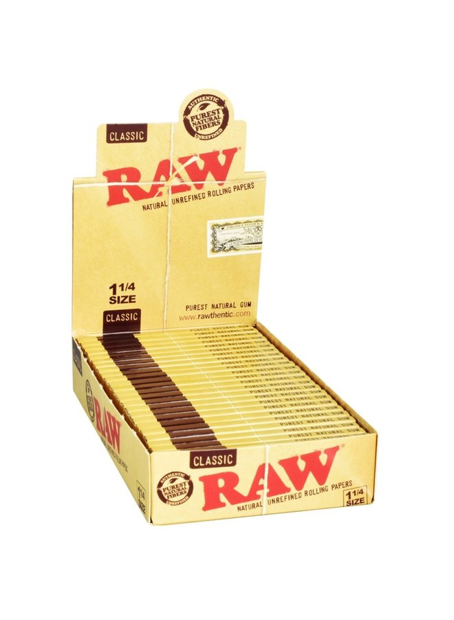 RAW - Classic 1 1/4 Rolling Papers