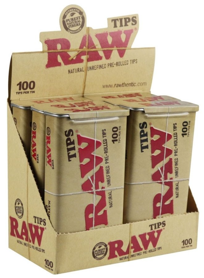 RAW - Pre-Rolled Tips
