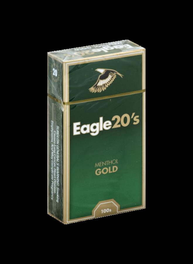Eagle 20'S - Eagle 20's - Menthol Gold  Box