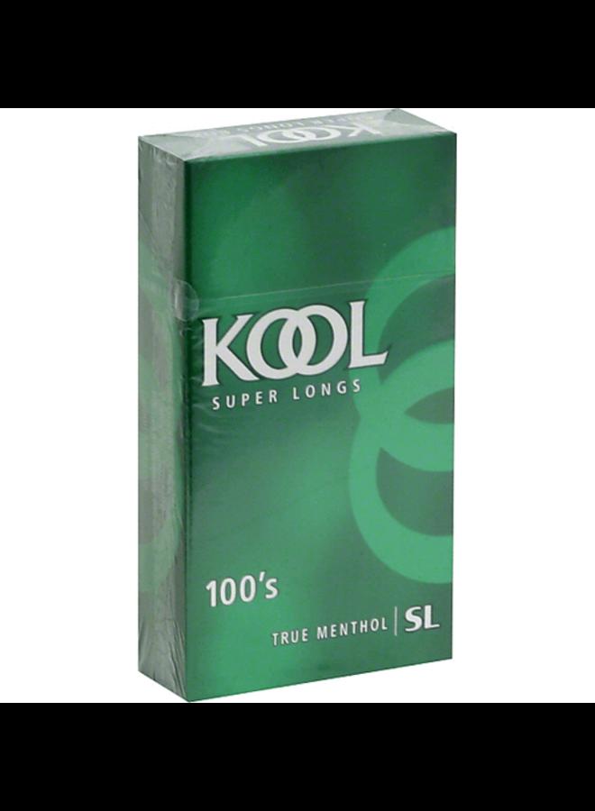 Kool - Kool 100's Green Menthol