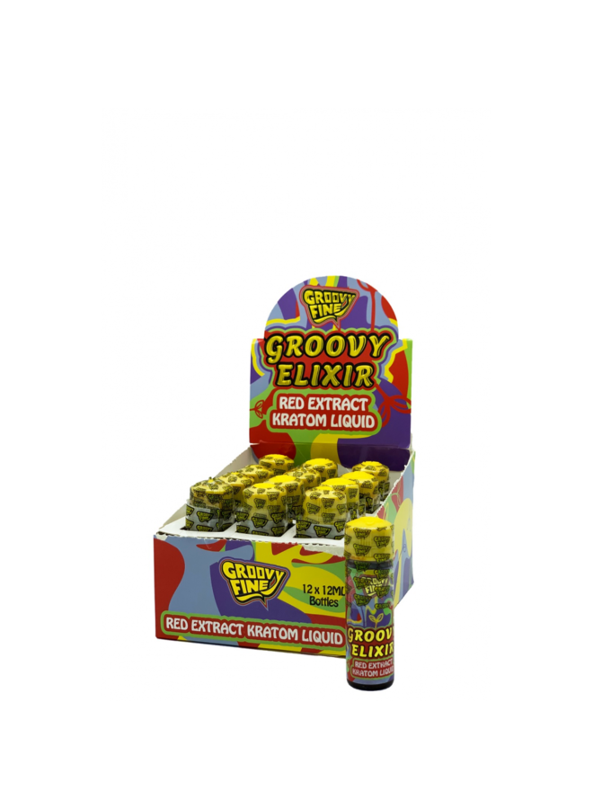Groovy Fine - Red Extract Kratom Liquid