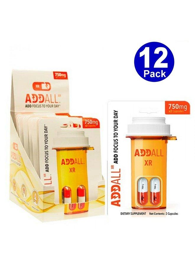 Brain Boost Supplement | 12 Pack