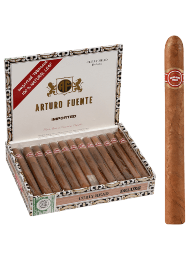 Arturo Fuente - Curly Head Deluxe Natural  6.50X43