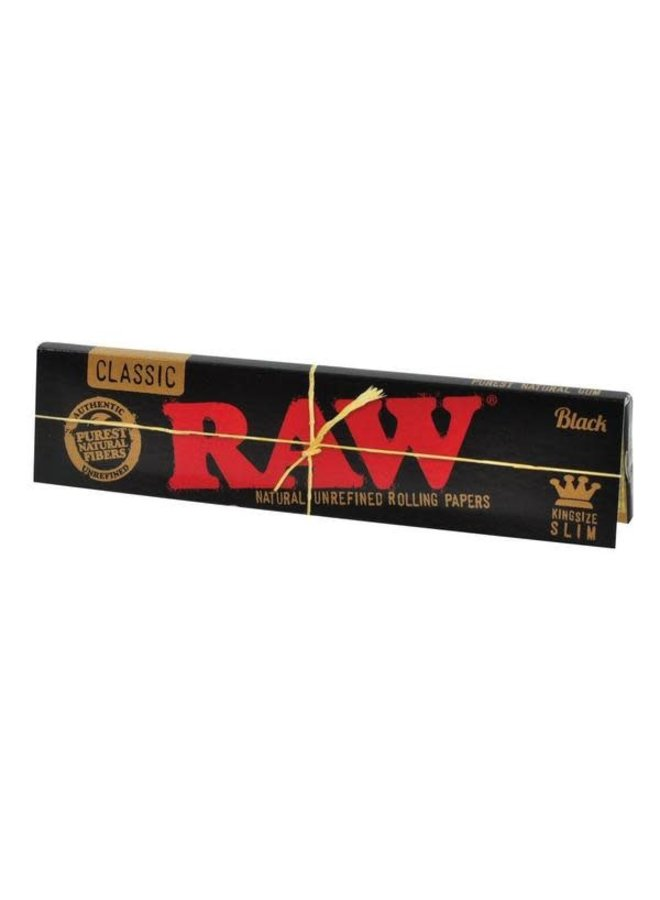 RAW - Classic Black Rolling Paper King Size