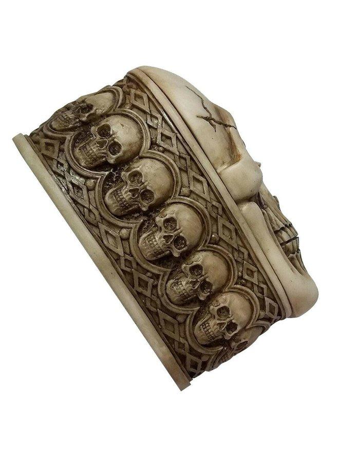 BrandX - Poly Skull Stash Box