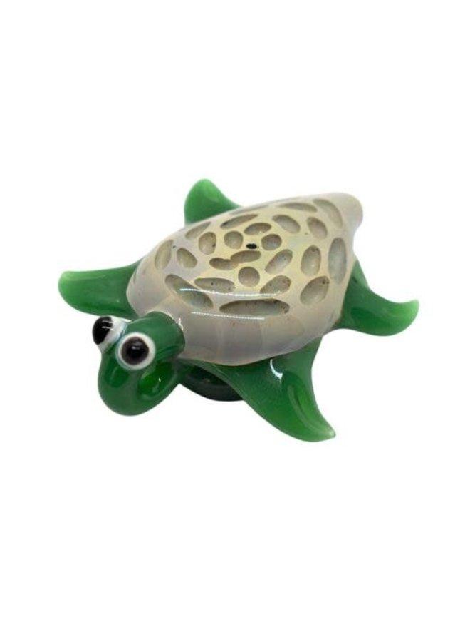 BrandX - Turtle Hand Pipe | 3''