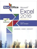 MIS310 YOUR OFFICE:MS.EXCEL W016