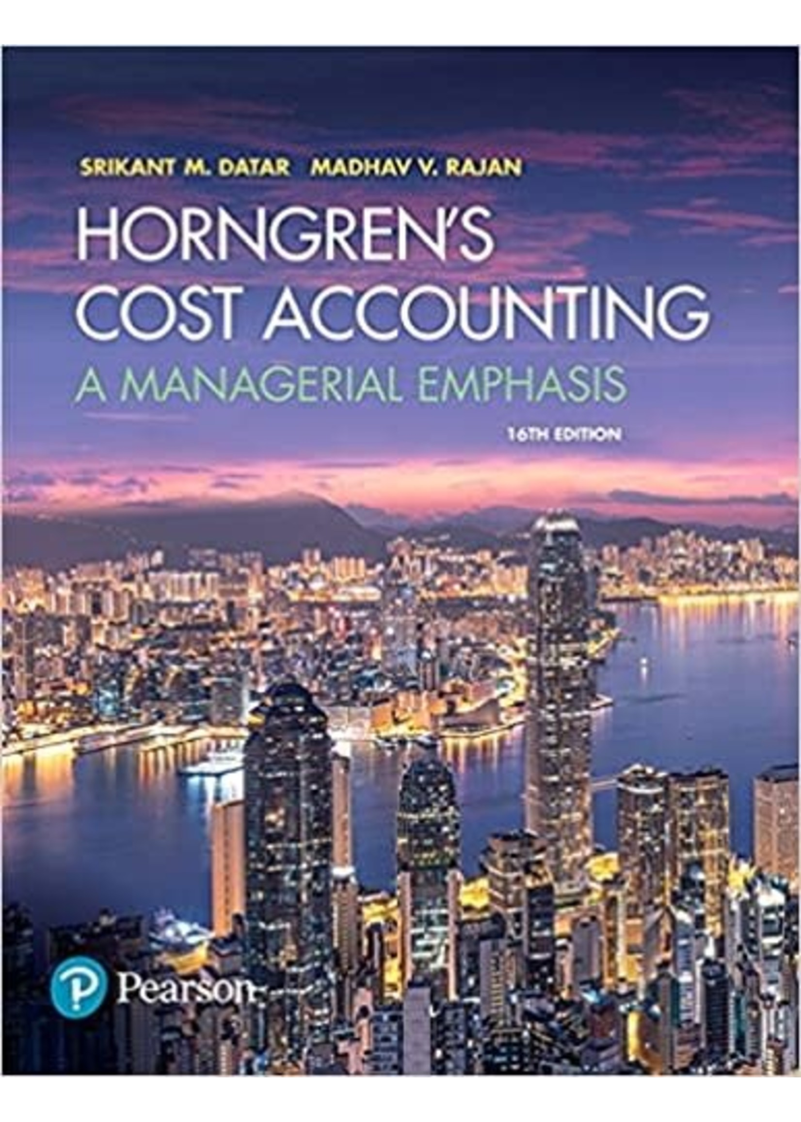 AC326 HORNGREN 'S COST ACCOUNTIG TEXT - RENT