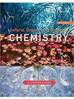CHEM101 GENERAL, ORGANIC - BIOLOGICAL CHEMISTRY