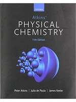 CHEM321 ATKINS PHYSICAL CHEMISTRY