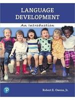 CSD 291 LANGUAGE DEVELOPMENT: INTRODUCTION