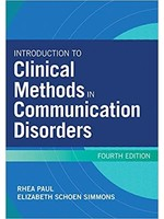 CSD 481 INTRODUCTION TO CLINICAL METH IN COMM DISORDERS