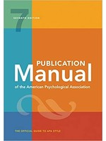 PUBLICATION MANUAL OF AM.PSYCH.ASSOC