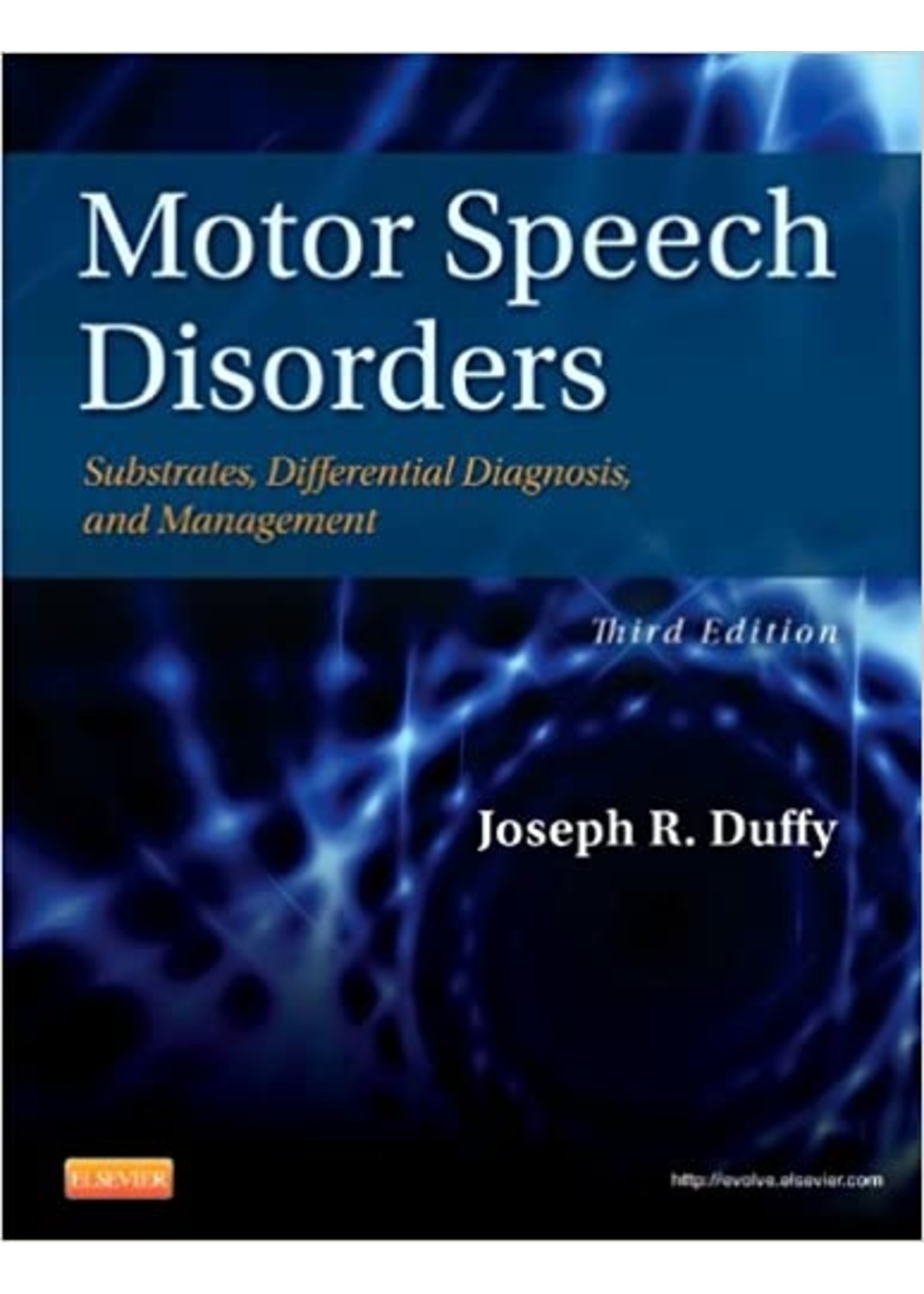 CSD534 MOTOR SPEECH DISORDERS