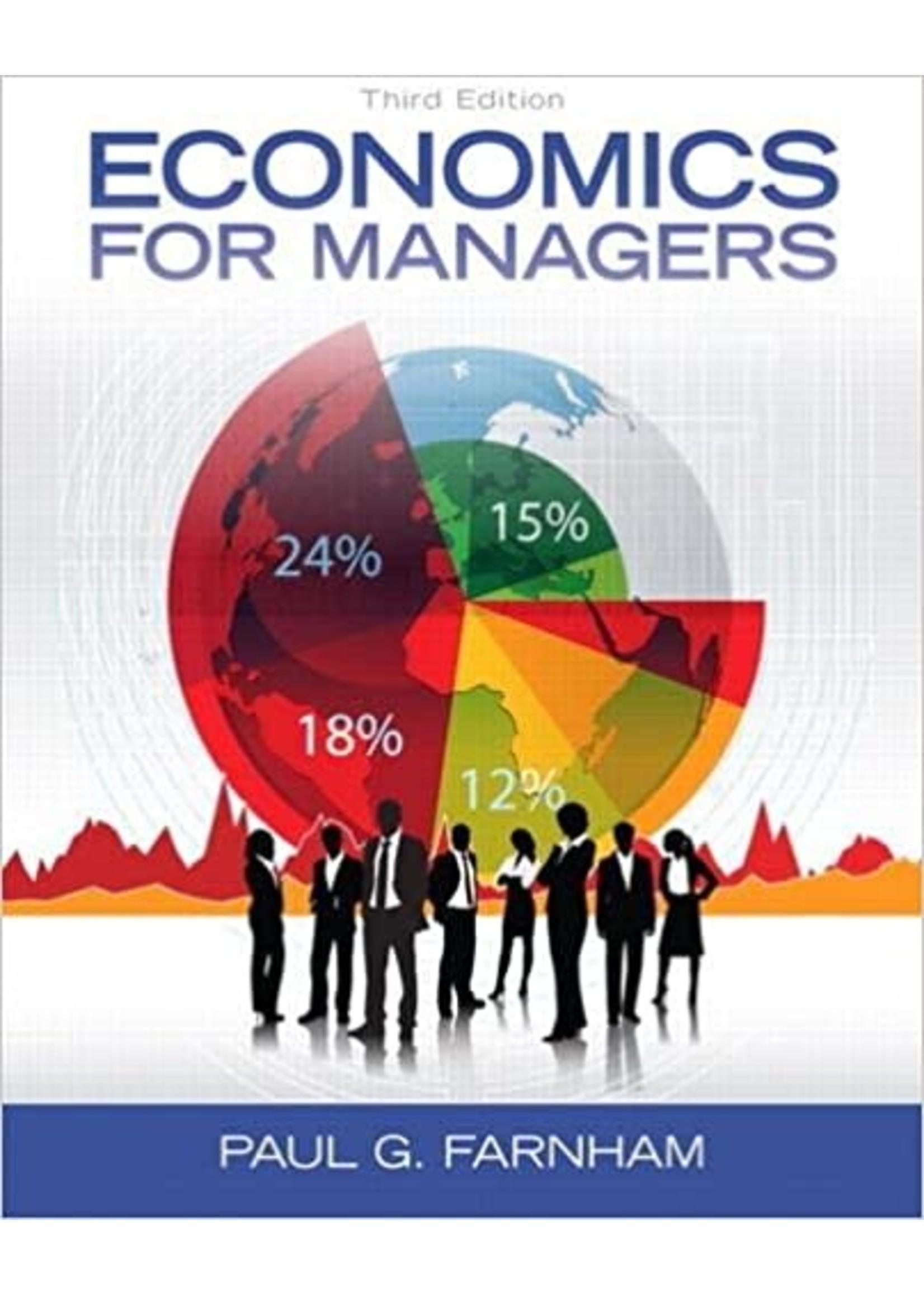 EC532  ECONOMICS FOR MANAGERS