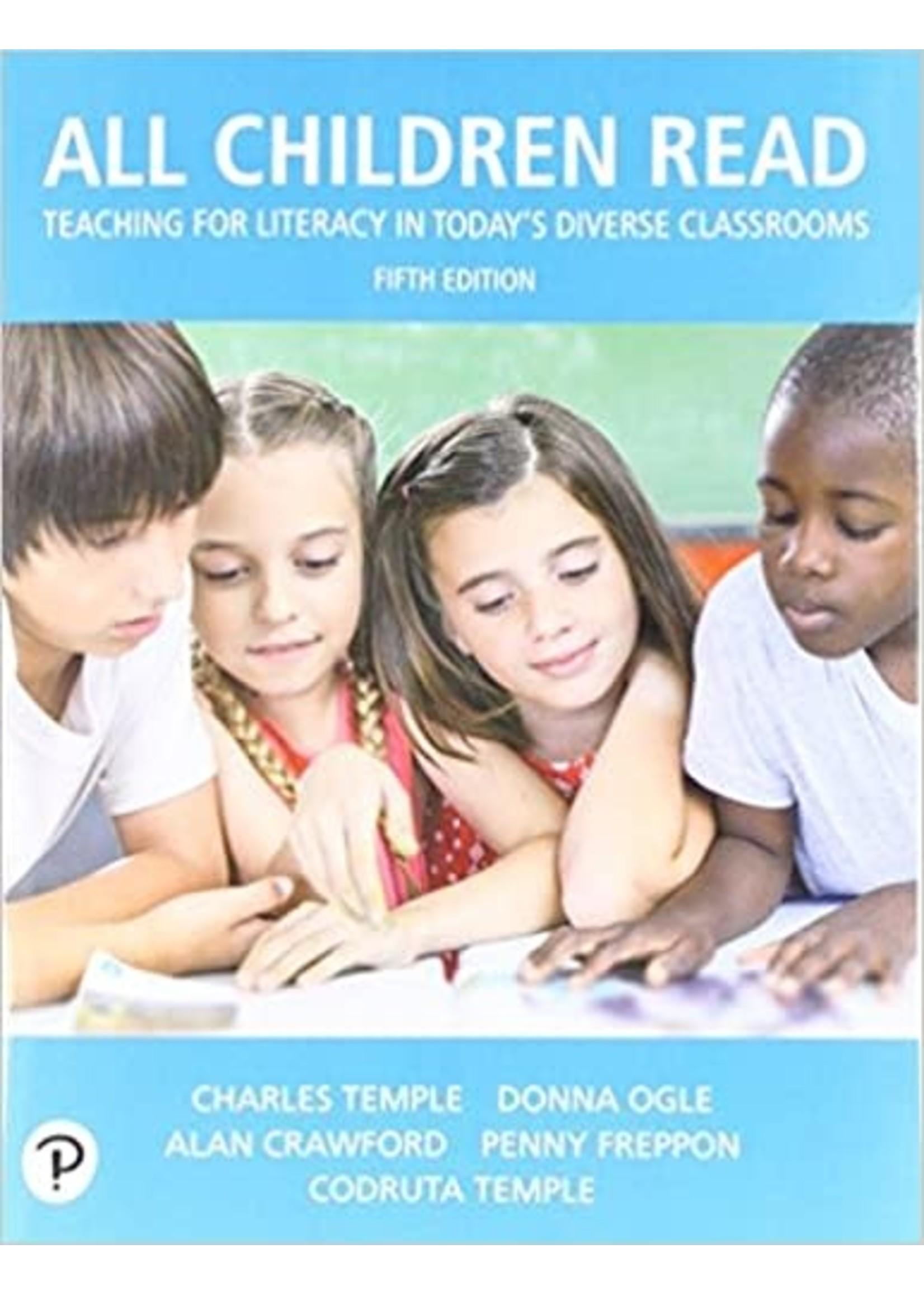 ED411/511 ALL CHILDREN READ