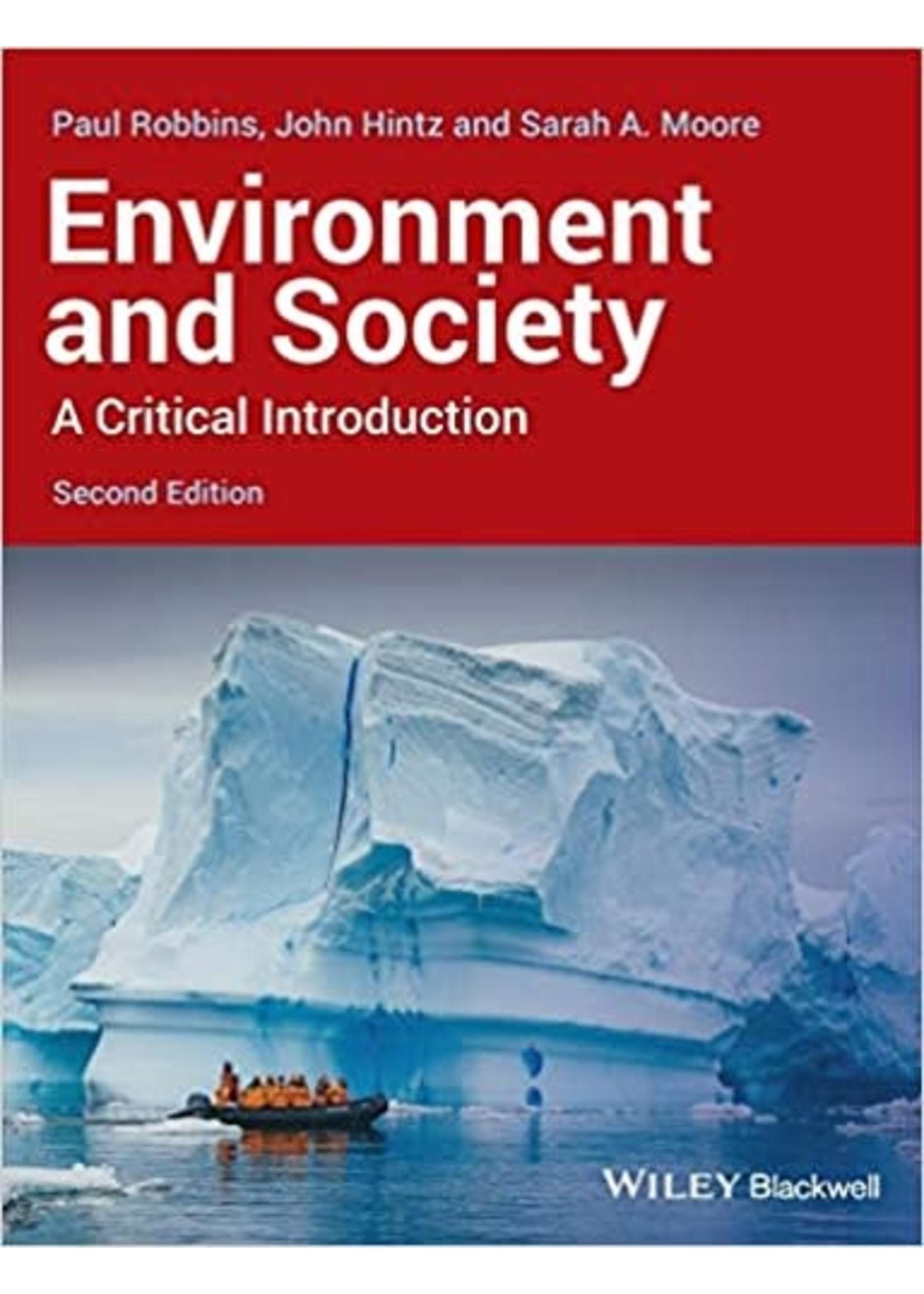 ES200 ENVIRONMENT & SOCIETY