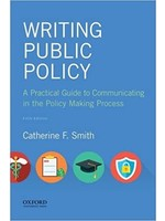 ES410  WRITING PUBLIC POLICY PARC GDE IN POLICY