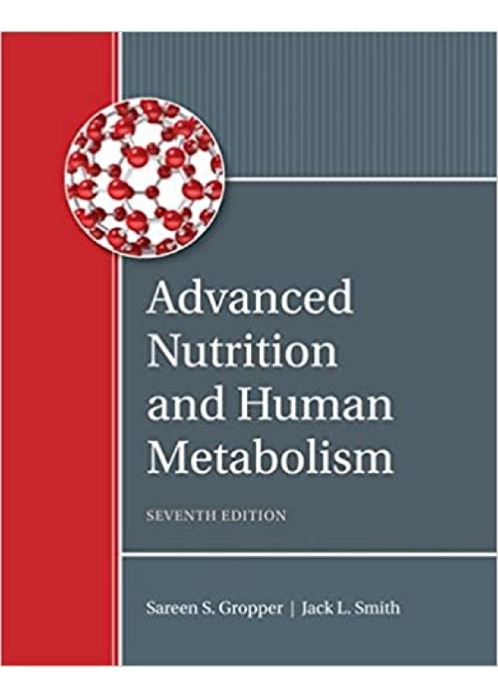 EXNS473 ADVANCED NUTRITION - HUMAN METABOLISM
