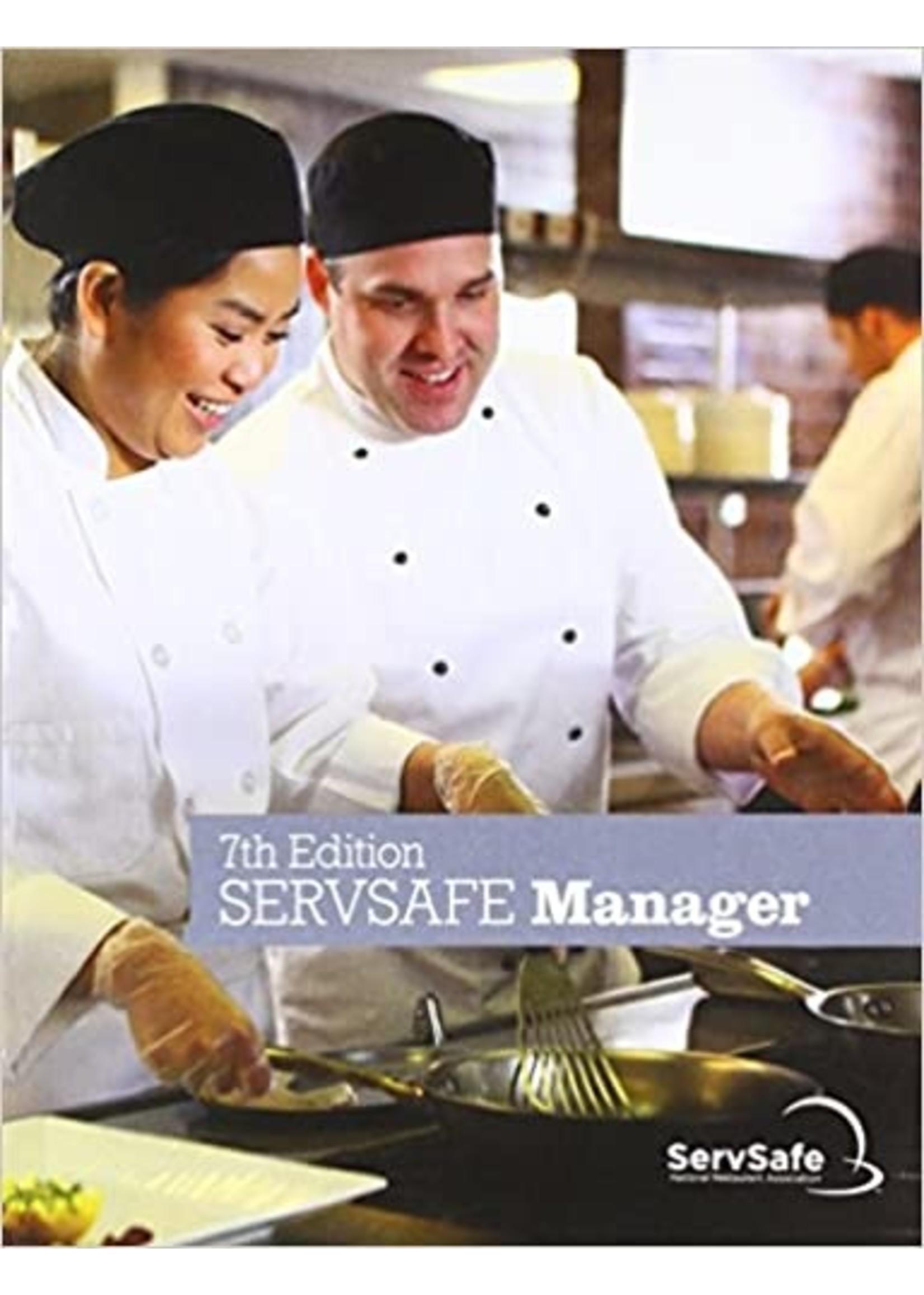 FCS477 SERVESAFE MANAGER BOOK