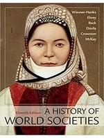 HIST101 HISTORY OF WORLD SOCIETIES - COMBINED ED