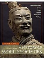 HIST103  HISTORY OF WORLD SOCIETIES V1