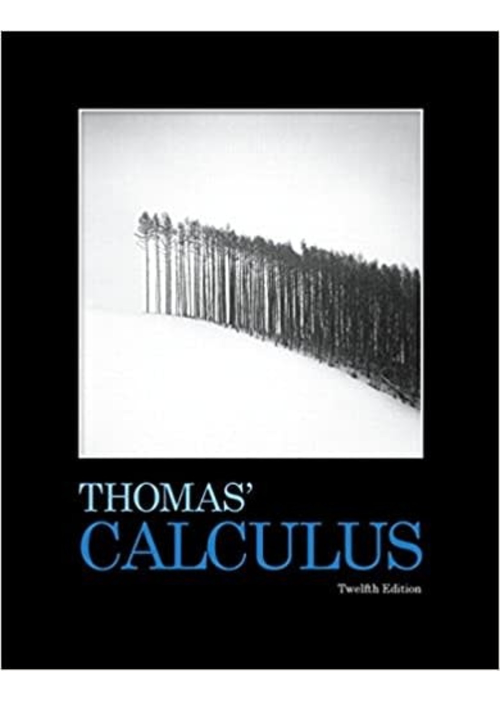 MATH171/172 THOMAS CALCULUS(RENTAL)
