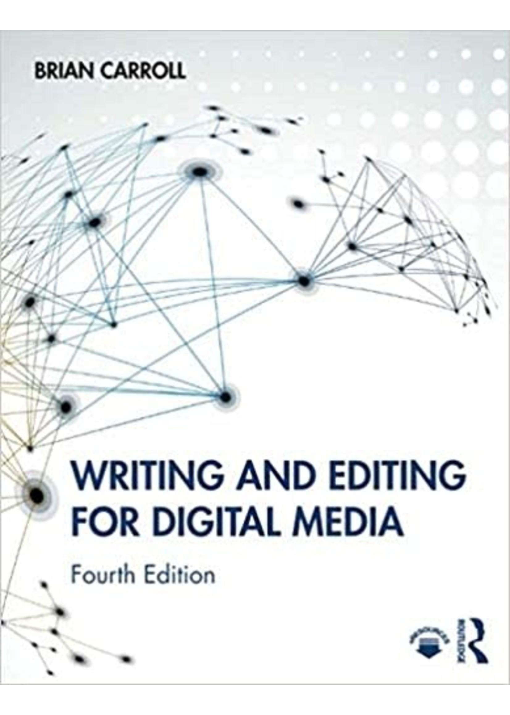 MC305 WRITING + EDITING FOR DIGITAL MEDIA