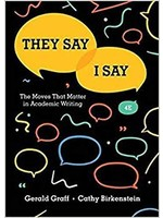 ENG101 THEY SAY I SAY