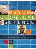 PSYC201 PSYCHOLOGICAL SCIENCE 5E(RENTAL)