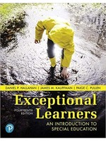 SPED407 EXCEPTIONAL LEARNERS