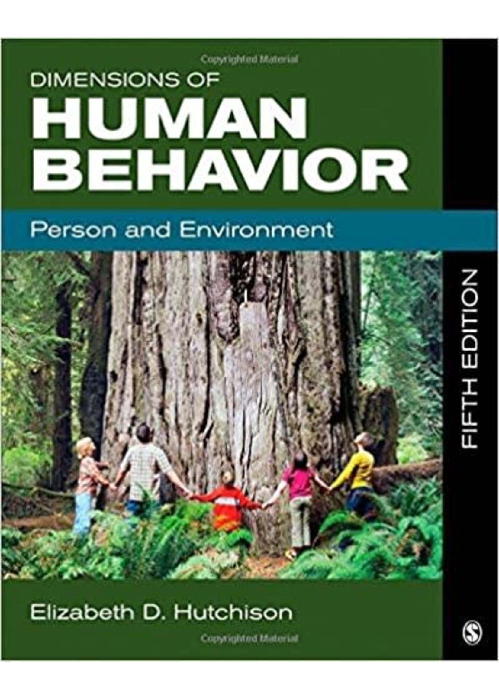 SWK322  DIMENSIONS OF HUMAN BEHAVIOR