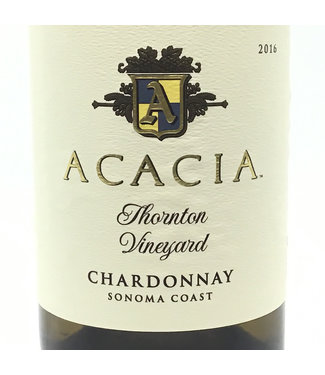 "Acacia ""Thornton Vineyard"" Chardonnay 2016 Sonoma Acacia ""Thornton Vineyard"" Chardonnay 2016 Sonoma"