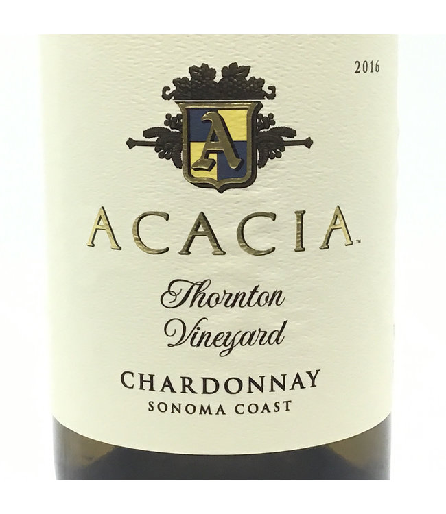 "Acacia ""Thornton Vineyard"" Chardonnay 2016 Sonoma"