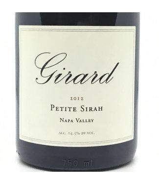 Girard Petite Sirah '12 Girard Petite Sirah '12 Napa