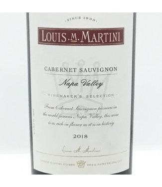 Louis Martini Cabernet Sauvignon '18 Louis Martini Cabernet Sauvignon'18 Napa