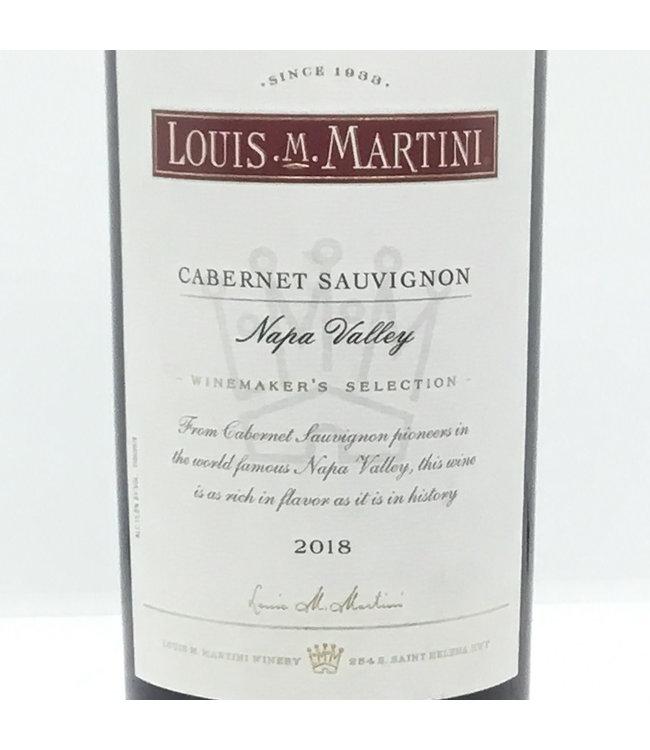 Louis Martini Cabernet Sauvignon'18 Napa