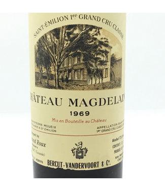 Cht. Magdelaine '69 (375ml) Cht. Magdelaine 1969 (375ml) St. Emilion Grand Cru Classe