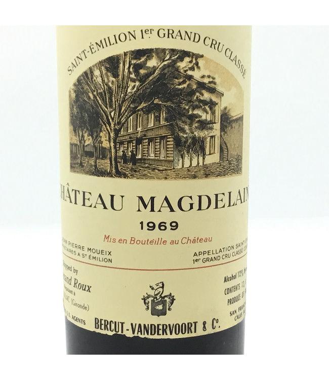 Cht. Magdelaine 1969 (375ml) St. Emilion Grand Cru Classe
