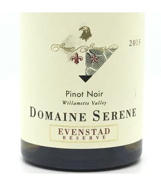 "Domaine Serene ""Evenstad Res."" Pinot Noir '15 Domaine Serene ""Evenstad Res."" Pinot Noir '15"