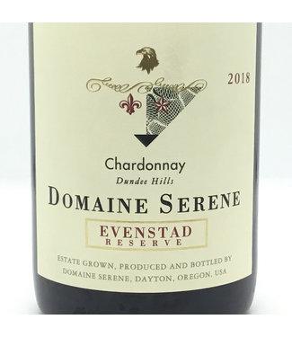 "Domaine Serene ""Evenstad Res."" Chardonnay 2018 Dundee Hills - Oregon Domaine Serene ""Evenstad Res."" Chardonnay 2018 Dundee Hills - Oregon"