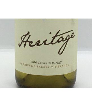 """Browne """"Heritage"""" Chardonnay '16 Browne """"Heritage"""" Chardonnay 2016"""