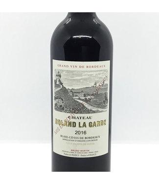 Cht. Roland la Garde '16 Château Roland La Garde 2016 Blaye - Bordeaux