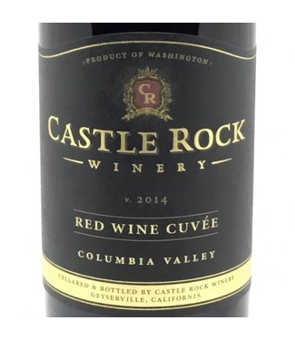 Caste Rock Red Blend Castle Rock Red Wine Cuvee 2014 Columbia Valley
